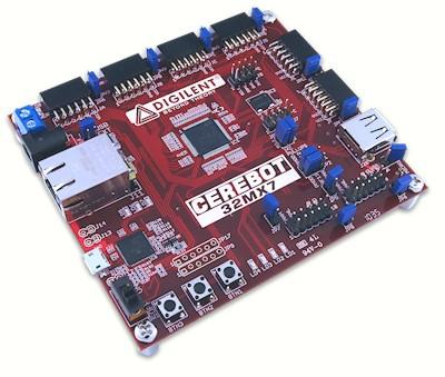 Отладочная плата Digilent Cerebot 32MX7