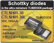 Central Semiconductor - CTLSH01-30, CTLSH01-30L