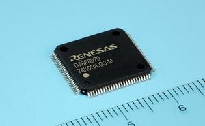 Renesas Electronics: 78K0R/LG3-M MCU