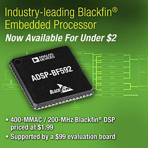 Analog Devices - ADSP-BF592