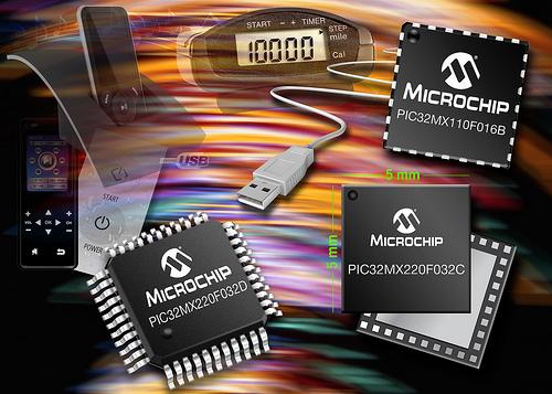 Microchip: микроконтроллеры серии PIC32MX1 и PIC32MX2