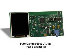 Стартовый набор Microchip MPLAB Starter Kit for PIC32MX1XX/2XX MCUs (DM320013)