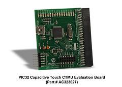Оценочная плата Microchip PIC32MX CTMU Evaluation Board (AC323027)