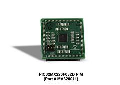 Процессорный модуль Microchip PIC32MX220F032D Plug-In Module (MA320011)