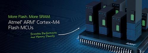 Микроконтроллеры Atmel SAM4S16 на базе ядра Cortex-M4