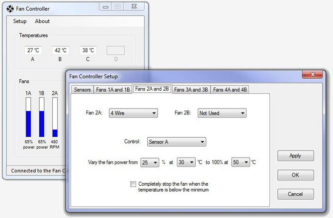 Fan Control Software Windows 7 : Intelligent fan controller part software and