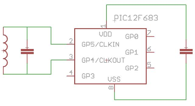 схема RFID эмулятора на