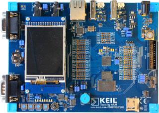 Keil: отладочные платы на базе STM32 F2 и STM32 F4