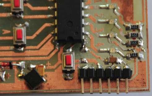 Универсальный RFID ключ.  Часть 2 - Схема и печатная плата.