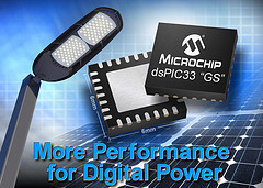 Microchip Announces 25% Performance Increase to dsPIC DSCs for Digital-Power Applications
