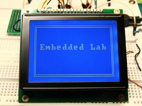 Interfacing a KS0108 based Graphics LCD  Part 3 - GLCD
