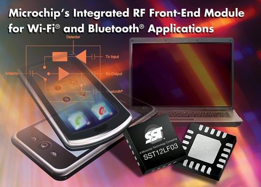 Радиочастотный Front-End модуль Microchip SST12LF03