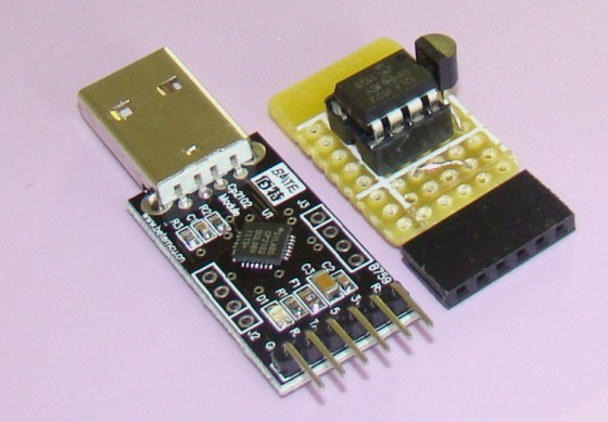 Microcontroller and USB-UART modules