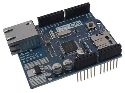 The Arduino Ethernet shield