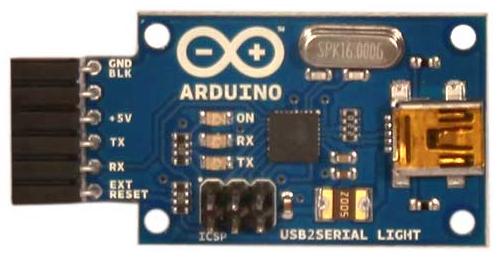 Arduino USB Serial Light adapter