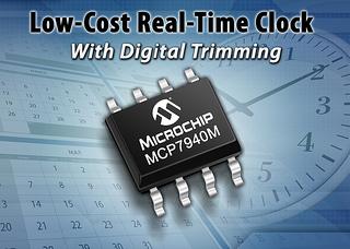 Microchip: Микросхема часов реального времени MCP7940M