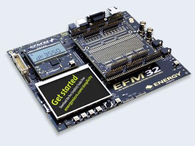 Development Kit Energy Micro EFM32G-DK3550
