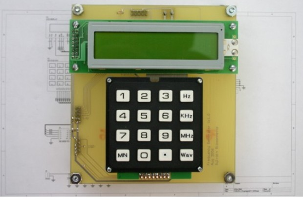 DDS Function Generator: LCD and Keyboard