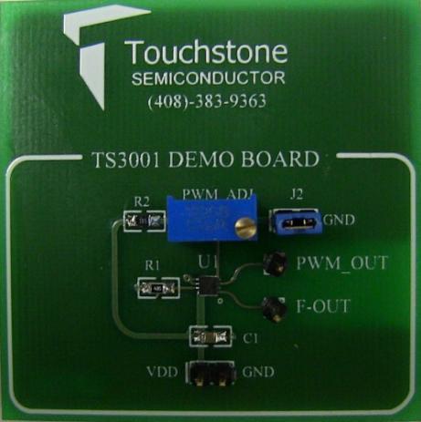 Demo board Touchstone Semiconductor TS3001