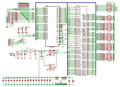 Simple and Cheap Logic Analyzer Schematic Diagram
