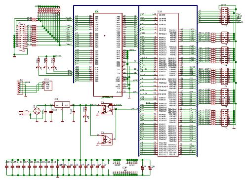 simple and cheap logic analyzer part 1 features schematic rh radiolocman com Logic Analyzer TCM Logic Analyzer TCM