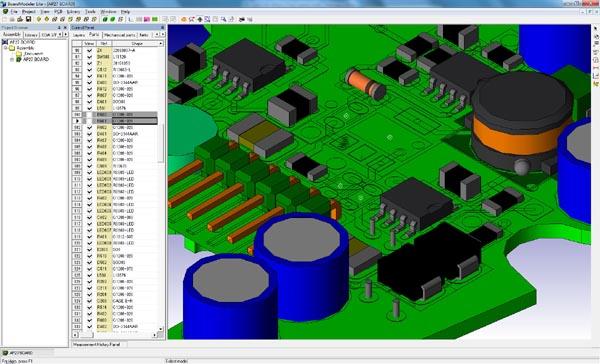 Управление видимостью отдельных компонентов с помощью новой колонки View на панели управления