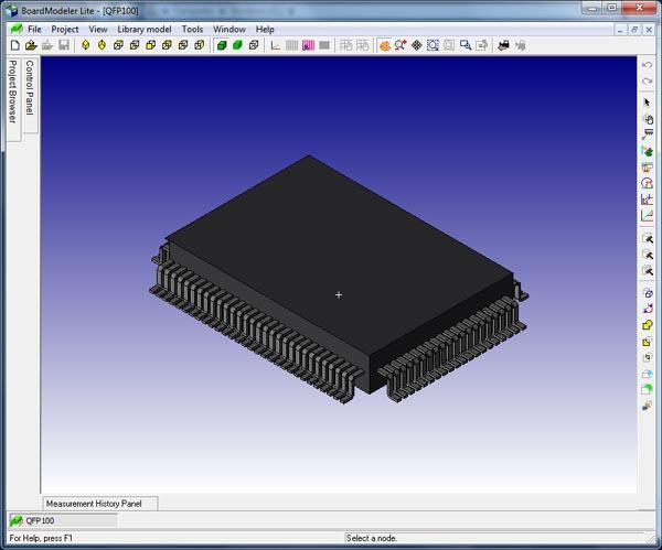 Создание и модификация трехмерных моделей средствами Board Modeler Lite