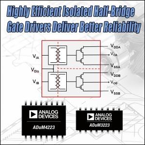 Analog Devices - ADuM3223, ADuM4223