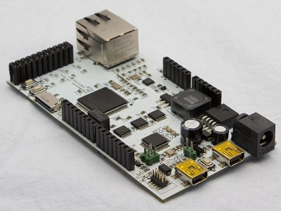 implecortex - Arduino compatible ARM Cortex development board