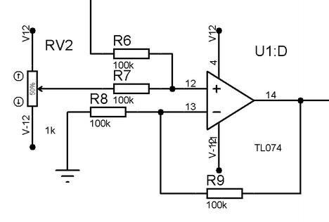 Signal offset regulation