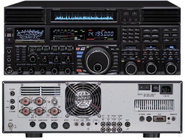 Yaesu's FTDX-5000 HF transceiver