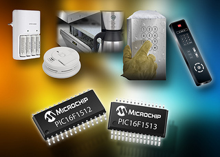 Microchip's New 8-bit PIC Microcontrollers Combine High Integration, Low Power and a Highly Efficient Method to Implement Touch Sensing