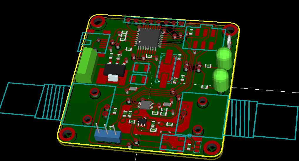 Версия DDS генератора на микросхеме AD9833 и микроконтроллере AT90USB162