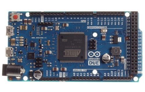 The Arduino Due and its Atmel SAM3X8E means your DIY 3-D printer can produce finer resolution, along with other improvements