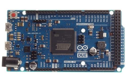 Платформа Arduino Due на базе 32-разрядного микроконтроллера