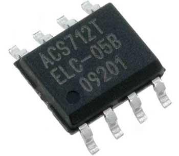 Микросхема ACS712 в корпусе SOIC