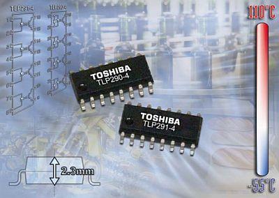 Toshiba - TLP290-4, TLP291-4
