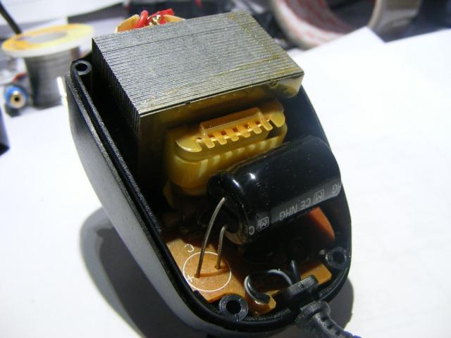 Зарядное устройство с сетевым трансформатором