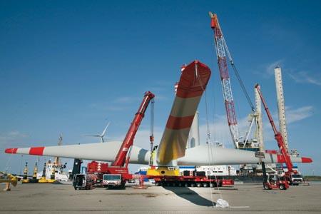 Турбины для оффшорных ветропарков: новые подходы к транспортной логистике