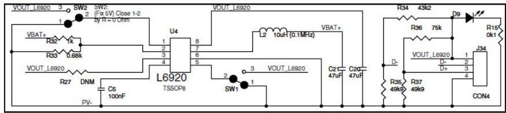 L6920d схема включения