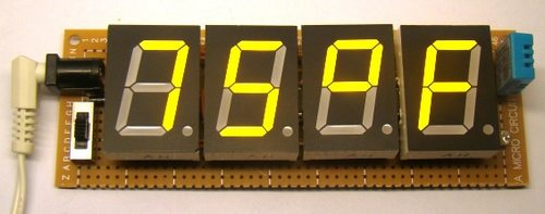 TrH Meter: A DIY indoor thermometer plus hygrometer