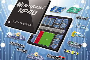 HMS Industrial Networks анонсировала сетевой процессор Anybus NP40
