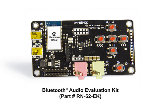 Microchip - Bluetooth Audio Evaluation Kit