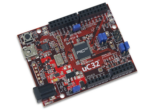 Microchip and Digilent Add Arduino Compatible chipKIT uC32 Development Platform
