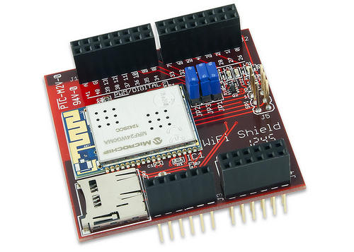 Digilent's chipKIT Wi-Fi Shield