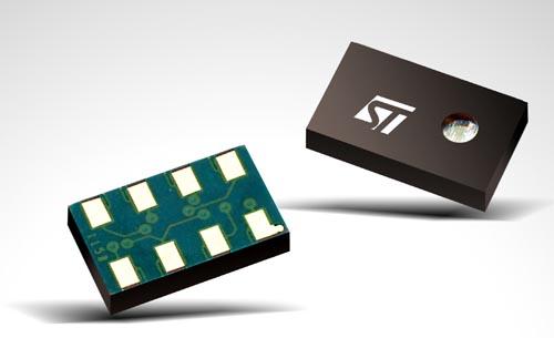 ST MEMS pressure sensor