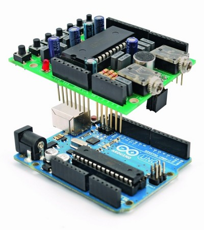 ����������� ����� ���������� Voice Shield � Arduino