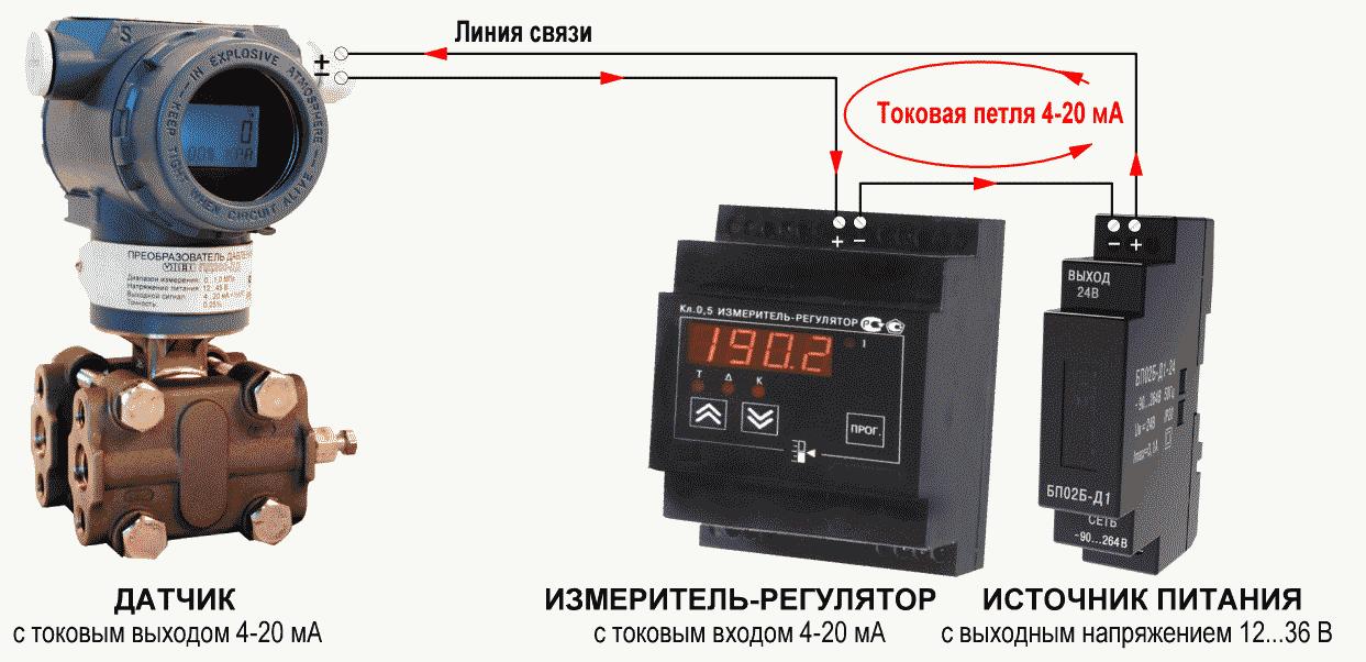 Задатчик тока 4-20 мА для