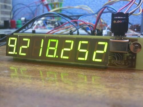 Частотомер на микроконтроллере AVR 1 - 10 МГц