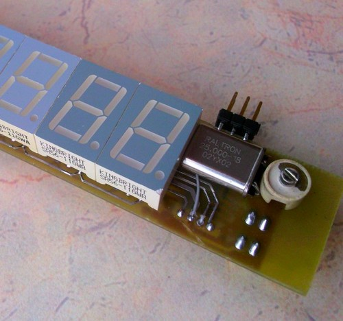 Подстроечный конденсатор для калибровки частоты кварцевого резонатора